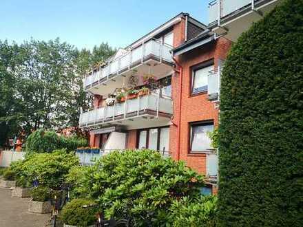 HELLE -Wohnung 2- Zi. in Norderstedt Süd + BALKON inkl. STELLPLATZ
