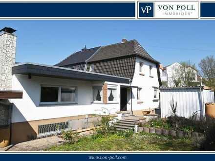 Doppelhaushälfte mit viel Potential in WO-Pfeddersheim