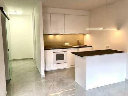 Erstbezug nach Sanierung mit EBK und Balkon: moderne 2-Zimmer-Wohnung in Bad Bergzabern