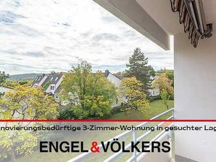 DÜW: Renovierungsbedürftige 3-Zimmer-Wohnung in gesuchter Lage von Bad Dürkheim!