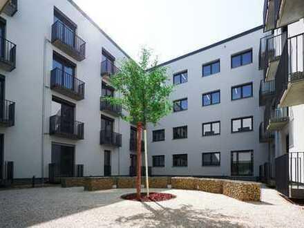 Kleine 1,5 Zimmer-Wohnung mit Balkon am Buga-Park!