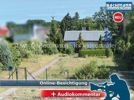 Berlin - Köpenick: Bauträgerfreies Wohnbaugrundstück mit Abriss Haus - UWE G. BACHMANN