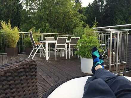 Luxuriöse, großzügige 4-Zimmer-DG-Wohnung am Rande von Velbert Neviges