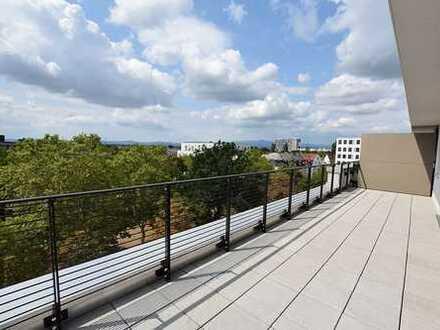 ++HIGHLIGHT++EXKLUSIVE NEUBAUWOHNUNG im Gallusviertel mit Parkettboden und großzügiger Dachterrasse!