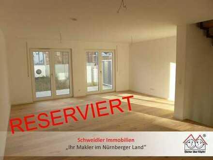 NEUBAUTRAUM in Stein zur Miete!!! TOP modernes Reihenmittelhaus mit viel Platz für Ihre Familie