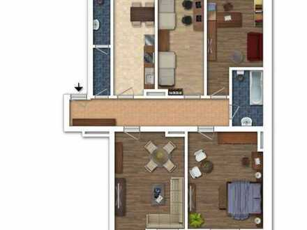 Einziehen und Wohlfühlen! Großzügige 4-Zimmer-Wohnung in Stadtlage