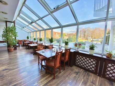 Auf Luthers Spuren – Gut situiertes Hotel & Restaurant mit Festsaal und Bowlingbahn