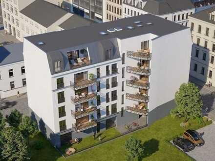 Neubau-Wohnungen im Neuesten Quartier von Leipzig - Rosa-Luxemburg-Quartier