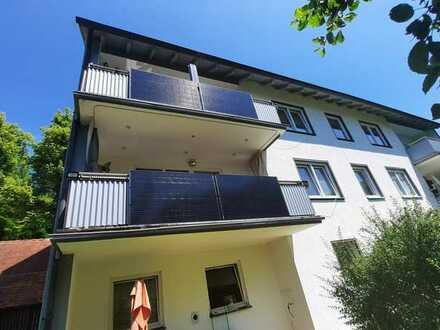 Ansprechende 3-Zimmer-Wohnung mit Einbauküche und Balkon in 91788, Pappenheim