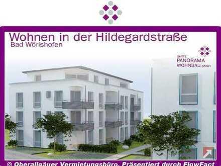 Neubau/Erstbezug-3-Zimmer-Wohnung in Bad Wörishofen mit Süd-Balkon (Whg. 09/Haus A)