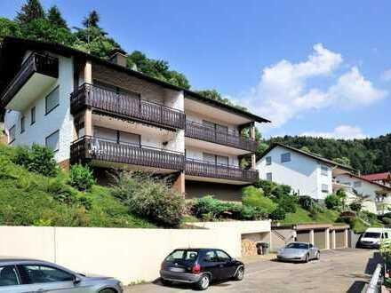 Urlaubsfeeling inklusive! - Komfortable 2-Zi-Wohnung in sonniger Hanglage!