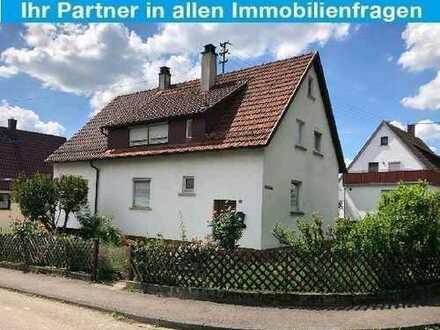 Renovierungsbedürftiges 1-2 Familienhaus in guter Wohnlage!