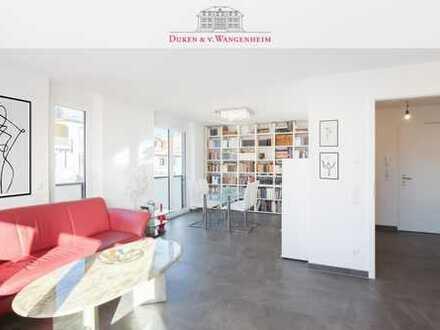 Moderne Wohnung. Ruhig und Grün gelegen.