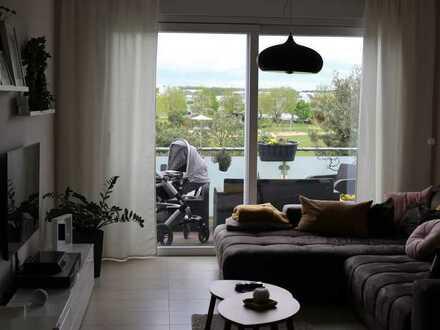 Moderne 3-Zimmer-Wohnung mit Balkon in Köln Widdersdorf mit Blick auf den Englischen Garten