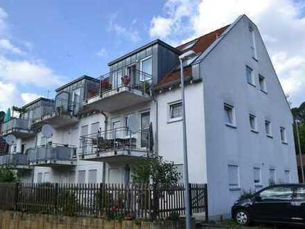 Gemütliche 3-Zimmer-Wohnung in ruhiger Aussichtslage in Albershausen für kleine Familie