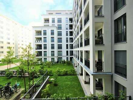 frei 1.7.2020-moderne 4-Zimmer-Wohnung München-Bogenhausen, 2 großzügige Stellplätze, barrierefrei