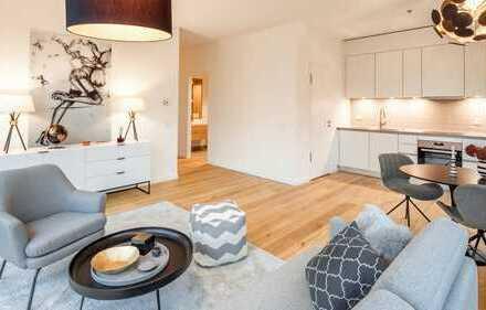 *KPTN* Exklusive 2-Zimmer Wohnung mit hochwertiger Ausstattung