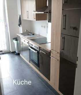 Stilvolle 2-Zimmer-Wohnung mit Balkon und EBK in Junkersdorf, Köln