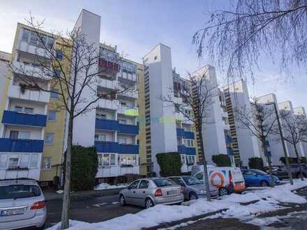 + Helle und gut geschnittene 2 Zimmer Wohnung im Dachgeschoss - Balkon, Aufzug, Badewanne +