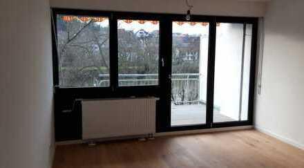 Erstbezug nach Sanierung : Ansprechende 1-Zimmer-Terrassenwohnung in Bad Kreuznach OT BME