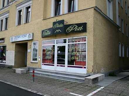 Vielseitig nutzbare Gewerbeeinheit mit Wohnmöglichkeit in Toplage Augsburg/Antonsviertel