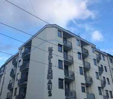 Stilvolle, gepflegte 1-Zimmer-Wohnung mit Balkon und Pantyküche in Mannheim