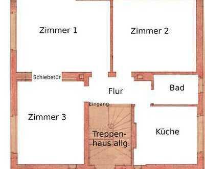 Gelnhausen Stadt: Helle, freundliche 3-Zimmerwohnung