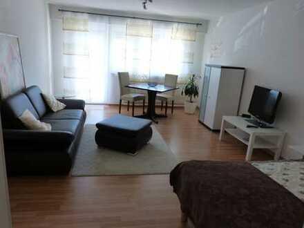 Schönes modernes, voll möbiliertes 1-Zi-Apartment in ES-Zollberg