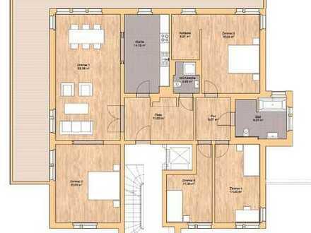 großzügige 5 Zimmer Erdgeschoss Wohnung mit großer Terrasse