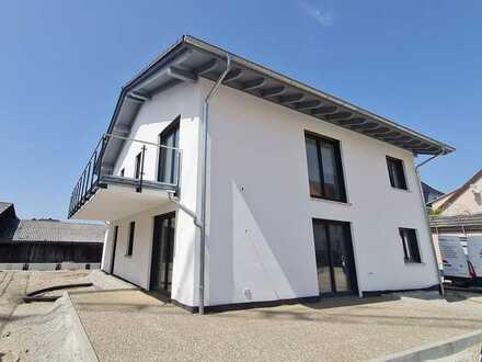 Großzügige OG Neubauwohnung zu vermieten im KFW 55 Standard
