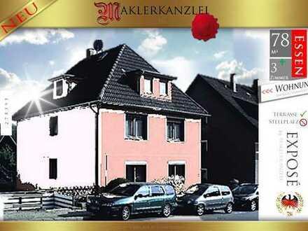 +++ NEU +++ 78m² Wohnung in sehr begehrter Lage (renovierungsbedürftig; Erdgeschoss; Terrasse)