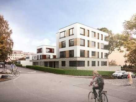 Erdgeschosswohnung mit Gartenanteil zur alleinigen Nutzung - Schloßchemnitz, Baubeginn war 9/2017