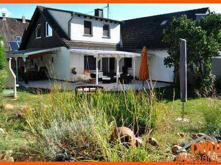 Saniert-renoviert DHH, Garten, Garage, Kamin, EBK, Gäste-WC, TL-Bad Wa+Du,Terrasse ruhige Wohnlage