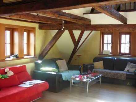 ***Orginelle Dachgeschoßwohnung in einem der schönsten Häuser Schmalkaldens***