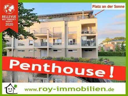 +++ Luxus Penthouse, zentral in Papenburg, Wasserlage, hochwertige EBK inkl. ! +++