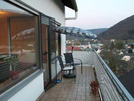 Schöne 4-Zimmer-Wohnung mit Balkon über den Dächern von Bad Ems