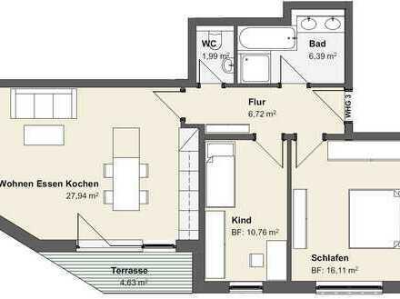 VERKAUFT Wohnung Nr. 3