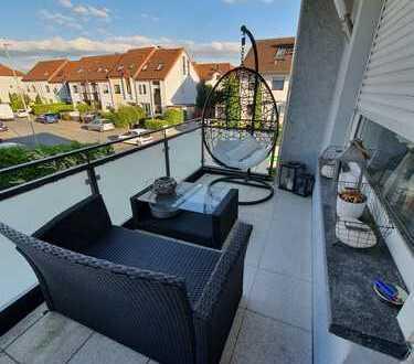 Exklusive, gepflegte 3-Zimmer-Wohnung mit Balkon und EBK in Obertshausen