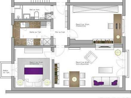 990 €, 66 m², 3 Zimmer