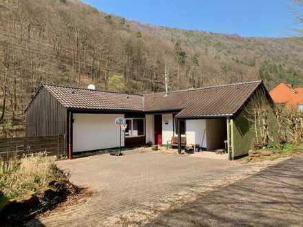 Einfamilienhaus in Rinnthal am Fuße der Wanderwege im Pfälzer Wald