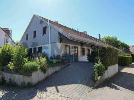 Vermietetes 4-Zi.-REH mit Terrasse, Garten und Garage in idyllischer Lage