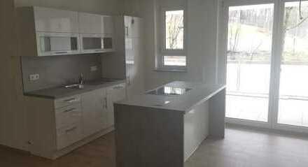 Erstbezug: stilvolle 3-Zimmer-Erdgeschosswohnung incl. Einbauküche und Balkon in Tuttlingen