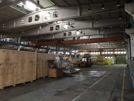 Industriehalle mit Außenlagerfläche in bester Lage in Chemnitz/Kappel