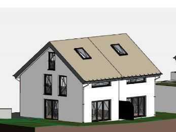 Feldmoching, das Dorf in der Stadt! Moderne DHH - Neubau, in schöner ruhiger Stadtrandlage, Haus 1