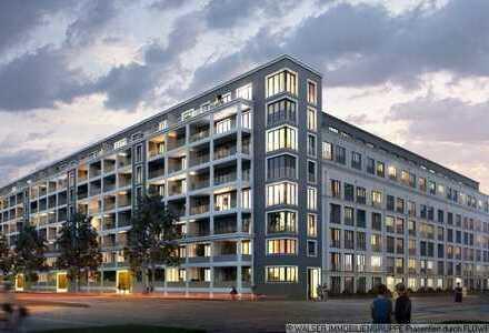 * EINZELBESICHTIGUNG * Exklusive 4-Zi.-Neubau-Whg. mit 2 Balkonen und Einbauküche