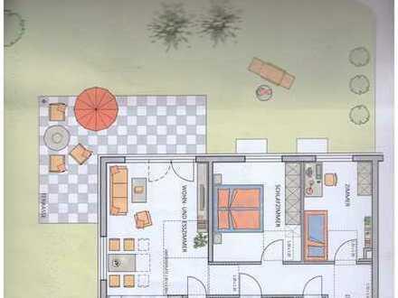 Erstbezug mit Terrasse und Gartenanteil: hochwertige 3-Zimmer-Erdgeschosswohnung in Markgröningen