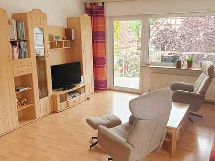 KOMPLETT möblierte 3,5-Zimmer-Wohnung in Weinstadt