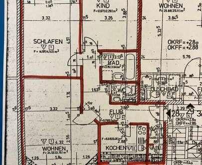 Voigt Immobilien: 3 Zi.-Wohnung in zentraler und ruhiger Lage von Bremen Findorff