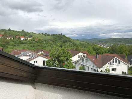 Doppelhaushälfte (152 / 205qm) in Grunbach, Panorama-Ausblick ins Remstal, 8 Zimmern, Garage, Garten
