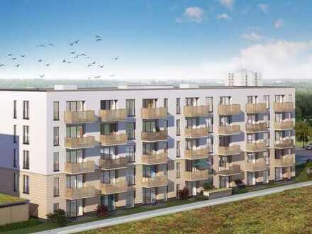 Ruhig gelegen: Lichtdurchflutete 3-Zimmer-Wohnung mit offenem Wohn-/Ess-Kochbereich und Süd-Balkon